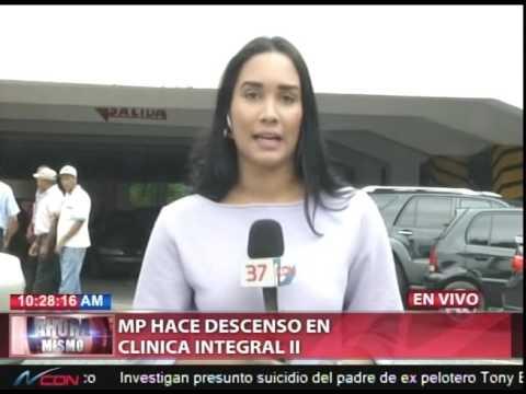 Ministerio Público realiza descenso en la clínica…