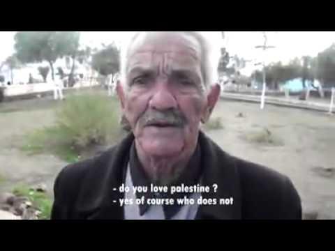 فيديو..شاهد ما اروع حب الشعب الجزائري لفلسطين ..لكم منا تحية