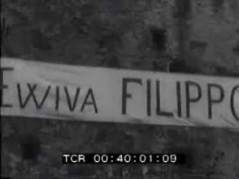 Cinegiornale su Filippo Gagliardi