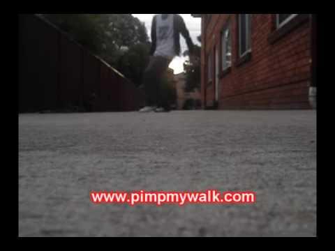 PimpMyWalk.com - Learn how to C-Walk: The Shuffle Stepback