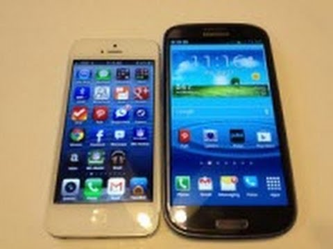 iPhone 5 vs. Samsung Galaxy S3 Review
