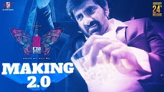 Disco Raja Movie Making 2