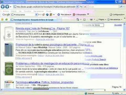Google Buscador de Libros