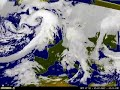 meteo europe cloud animation (watch in high quality!)