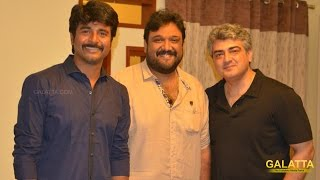 Watch Sivakarthikeyan Meets Ajith! Red Pix tv Kollywood News 08/Oct/2015 online