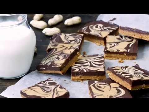 No Bake Chocolate Peanut Butter Bars Recipe