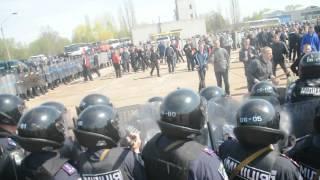 Житомирская милиция готова усмирять футбольных хулиганов