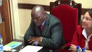 H.E Governor James Ongwae receives Turkish ambassador