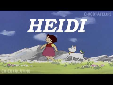 Heidi opening Latino remasterizado HD