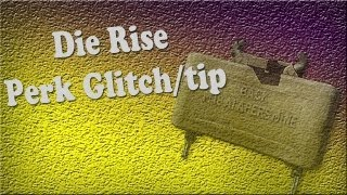 Black ops 2 - Die Rise: Minion perk Glitch/Tip