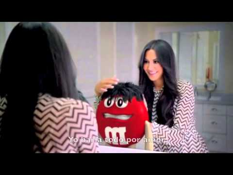 Everything for love, M&amp;M commercial