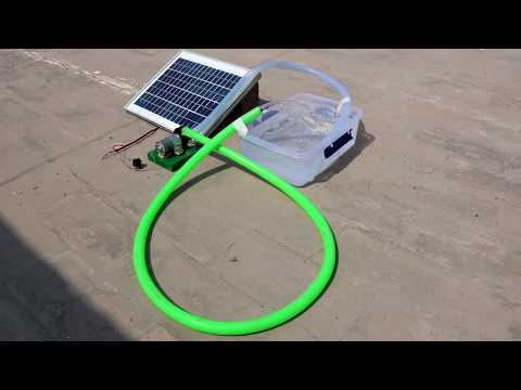 How to Make a mini SOLAR WATER PUMP at home // New Easy Way - UC8tX389iBnows12-Zyt0k3w