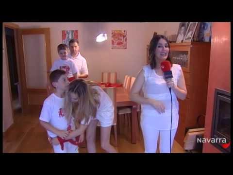 Retransmisión Chupinazo 2014 San Fermín 6 julio 2014 parte 1 Gracias a Navarra TV