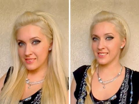 Easy party hairstyles for long and medium hair with quiff for summer 2011 tutorial