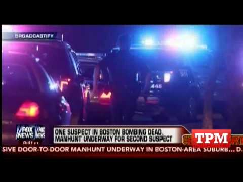 Police Scanner Audio From Hunt For Boston Bombing Suspects