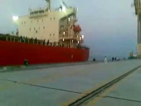 World's longest Ship hits Gwadar port