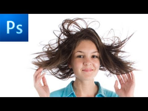Photoshop Tutorial: Make Advanced Hair Selections with Masks -HD