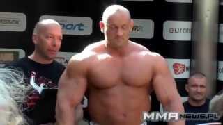 Ważenie przed walką Robert Burneika vs Marcin Najman