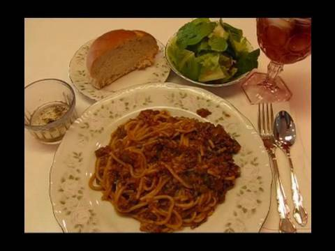 Betty's Simple Spaghetti Casserole Recipe