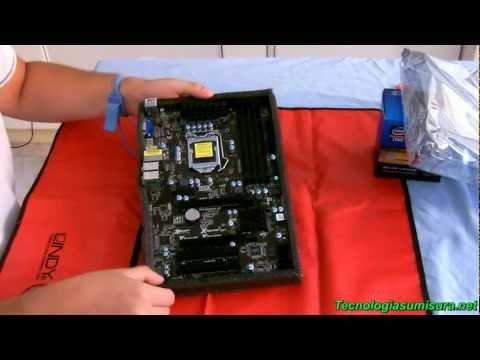 Guida all'Assemblaggio di un Computer (Parte3) - Installazione CPU e RAM su scheda madre