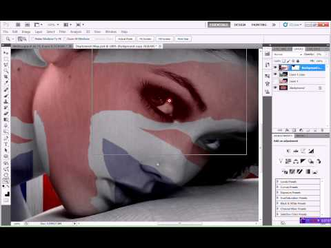 Displacement Maps - Adobe Photoshop Tutorial CS5