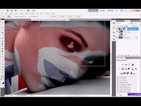 Displacement Maps - Adobe Photoshop Tutorial CS5