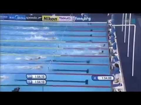 Ryan Lochte, Michael Phelps - 200 IM World Record 2011