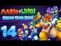 Let's Play Mario & Luigi Dream Team Bros. Part 14: Mario im Kampf gegen Bowser & Bat Antasma