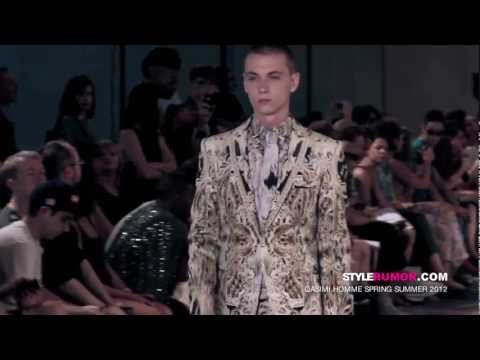 Qasimi Homme Spring Summer 2012 Backstage Video Stylerumor.com