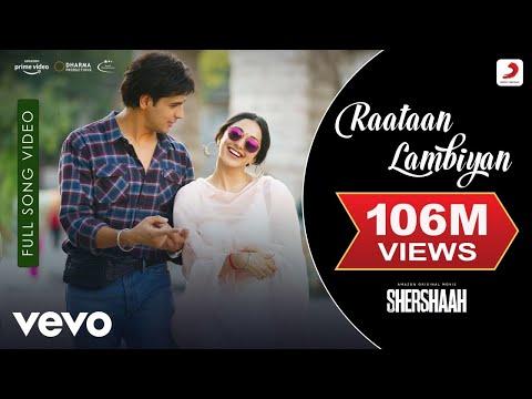 Raataan Lambiyan - Full Song Video|Shershaah |Sidharth–Kiara|Tanishk B.|Jubin|Asees