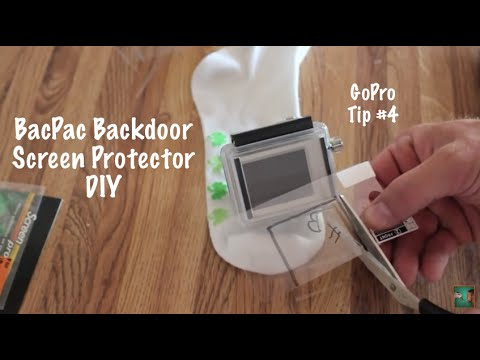 BacPac Backdoor Screen Protector - GoPro Tip #4 - UCTs-d2DgyuJVRICivxe2Ktg