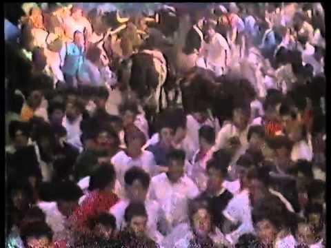 Encierro San Fermin Pamplona del dia 11 7 1986