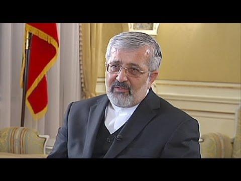 euronews interview - Soltanieh : Il ne faut pas parler aux Iraniens le langage de la menace