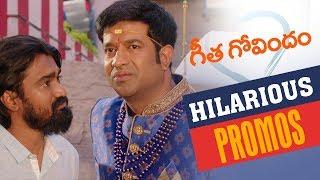 Geetha Govindam Back to Back Hilarious Promos