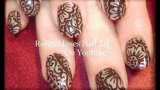 Mehndi Nail Art