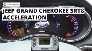 Jeep Grand Cherokee SRT8 6.4 V8 468 KM (on WET) - acceleration 0-100 km/h