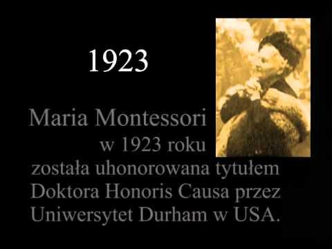 Maria Montessori - Historia