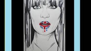 Jessie J - Domino - Drawing