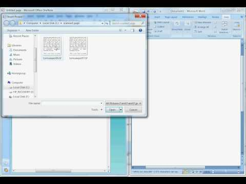 How to Convert Image to Text (OCR) with Office 2007