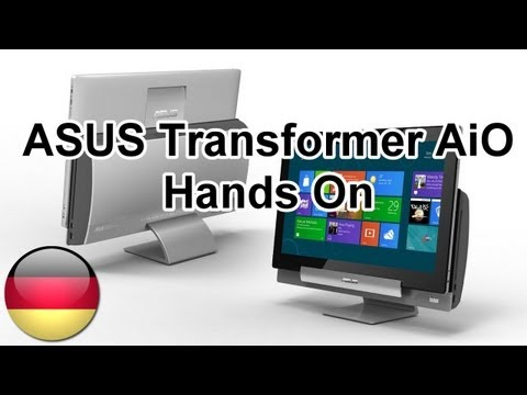 ASUS Transformer AiO Hands on und Kurztest [Deutsch - German] - UC0GhiZR9zyPorNmoWyPClrQ