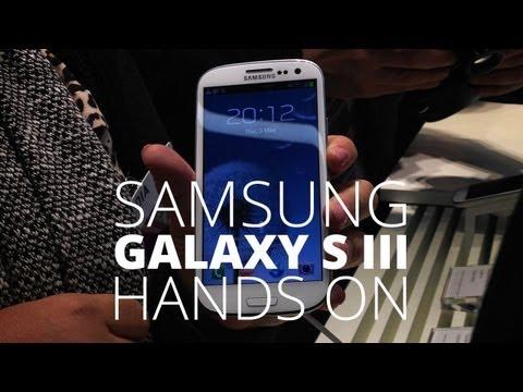 Samsung Galaxy S III - Hands On -GRZBchha4Zc