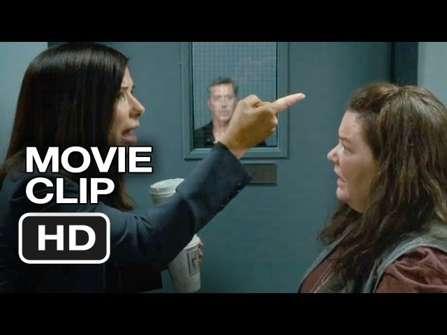 The Heat Movie CLIP - Good Cop Bad Cop (2013) - Melissa McCarthy, Sandra Bullock Movie HD