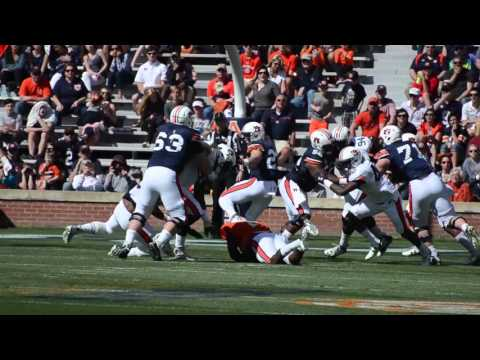 A highlight reel of the Auburn Tigers' 2016 A Day spring game.