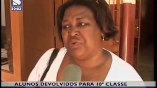 Pais no se conformam com a devoluo de alunos da 11a para a 10a classe
