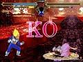 MUGEN無限格鬥 Vegeta VS Sakura【Watch Mode】達爾VS黑櫻【觀戰模式】