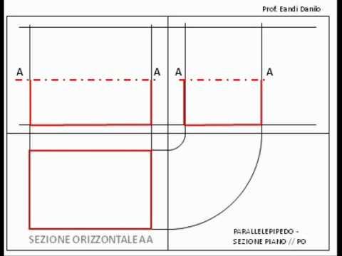 Parallelepipedo: sezione piano // PO