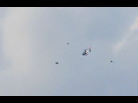 UFO Sightings Multiple UFOs Track Police Helicopter Nov 21,2011