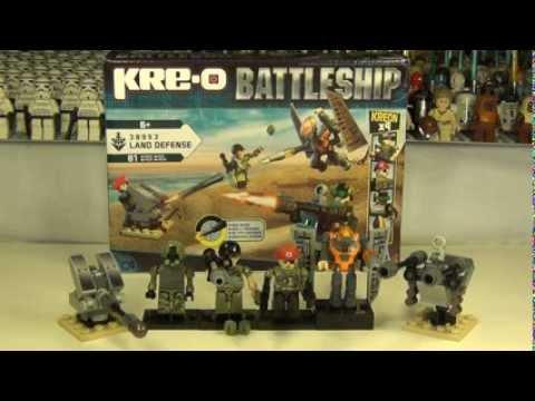 Hasbro Kre-o Battleship Land Defense Set 38953 Review