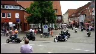 Harleys are leaving Plön (Michael Tegethof)