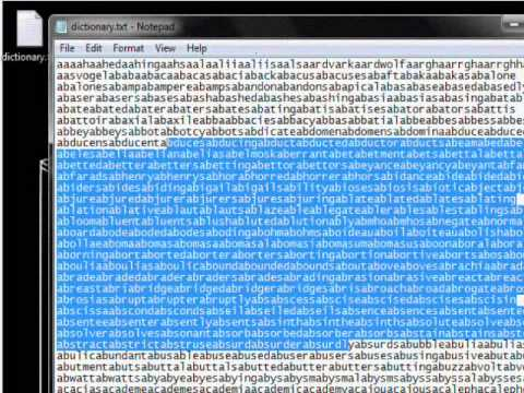 Hack Tutorial 1 - Cracking Local Passwords - Part 1